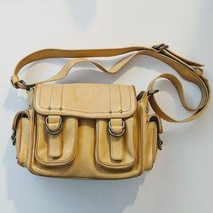 Marc Jacobs Creme Leather Handbag